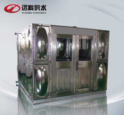 智能不锈钢水箱_无负压供水设备厂产品