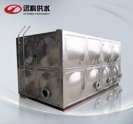 无负压变频供水设备_不锈钢水箱厂产品